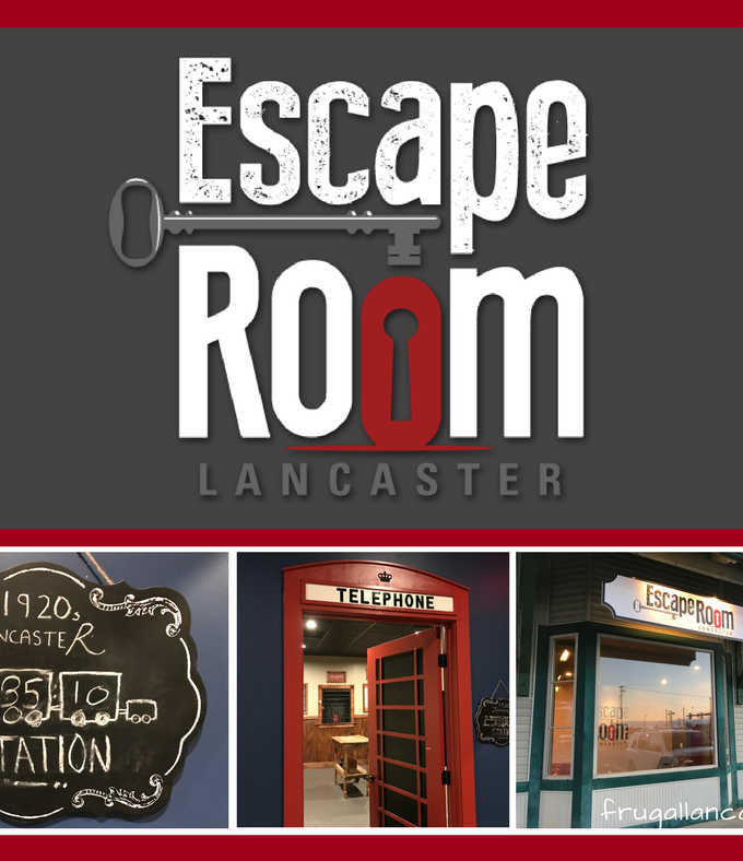 My Completely Honest Review of Escape Room Lancaster and a Giveaway That Will Shock You