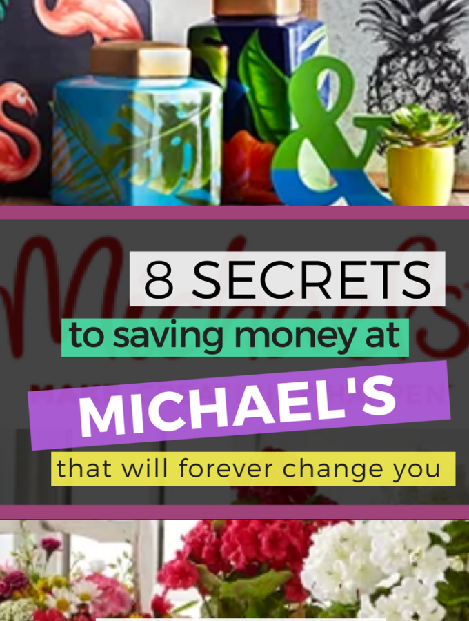 8 Secrets to Saving Money at Michael's Craft Store
