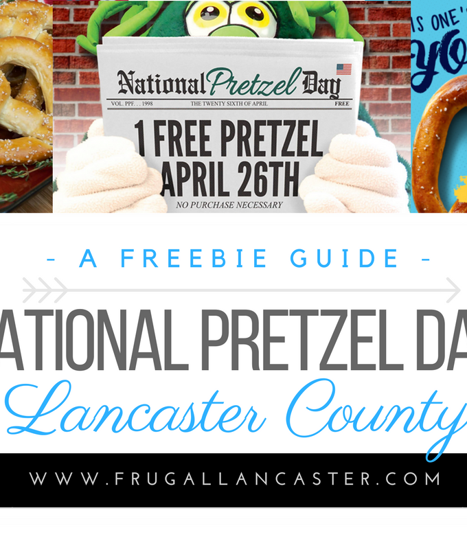 Celebrating National Pretzel Day in Lancaster County {April 26}