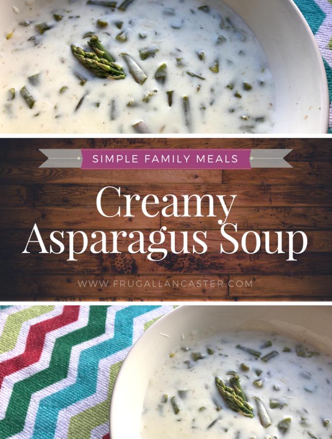 Creamy Asparagus Soup {A Simple Mennonite Favorite}