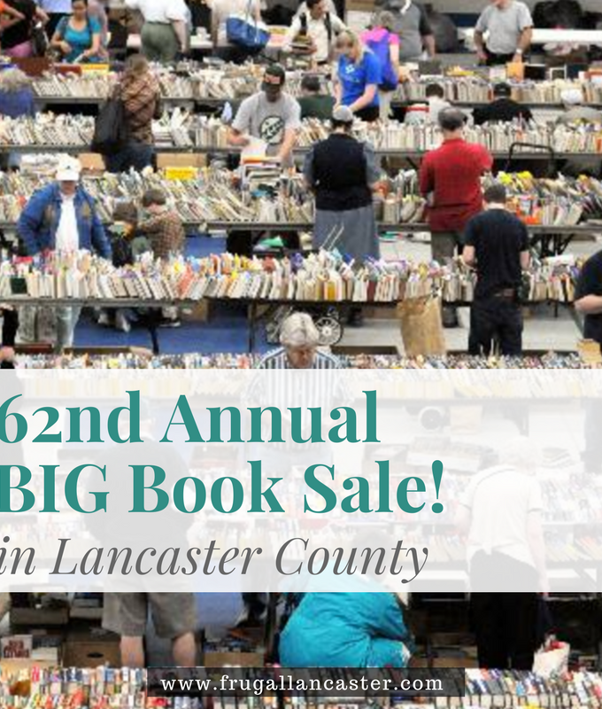 Friends of Lancaster Public Library 62nd Annual Big Book Sale {May 22-24, 2017}