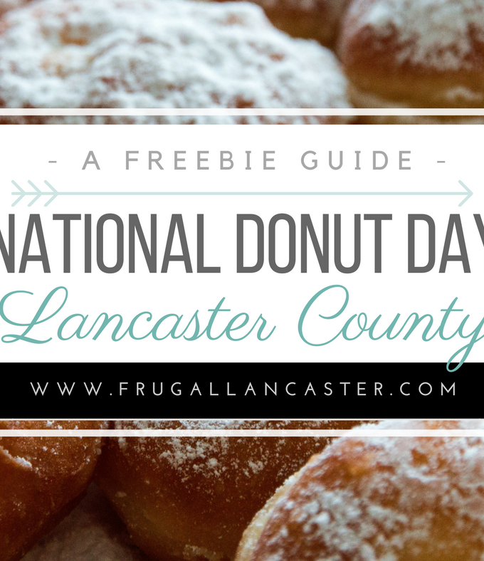 National Donut Day in Lancaster County {Friday, June 2, 2017}