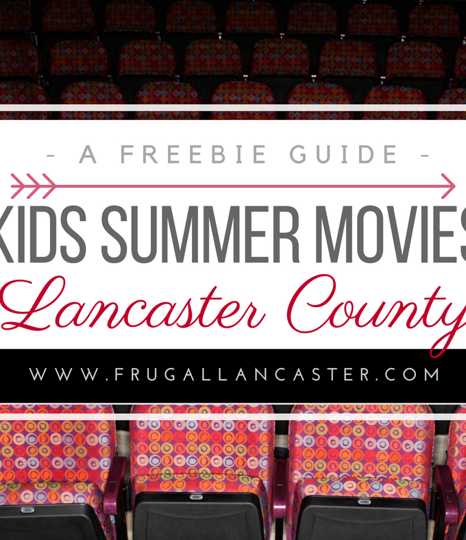 FREE and Cheap Summer Movies in and around Lancaster County