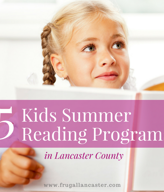 5 Kids Summer Reading Programs in Lancaster County