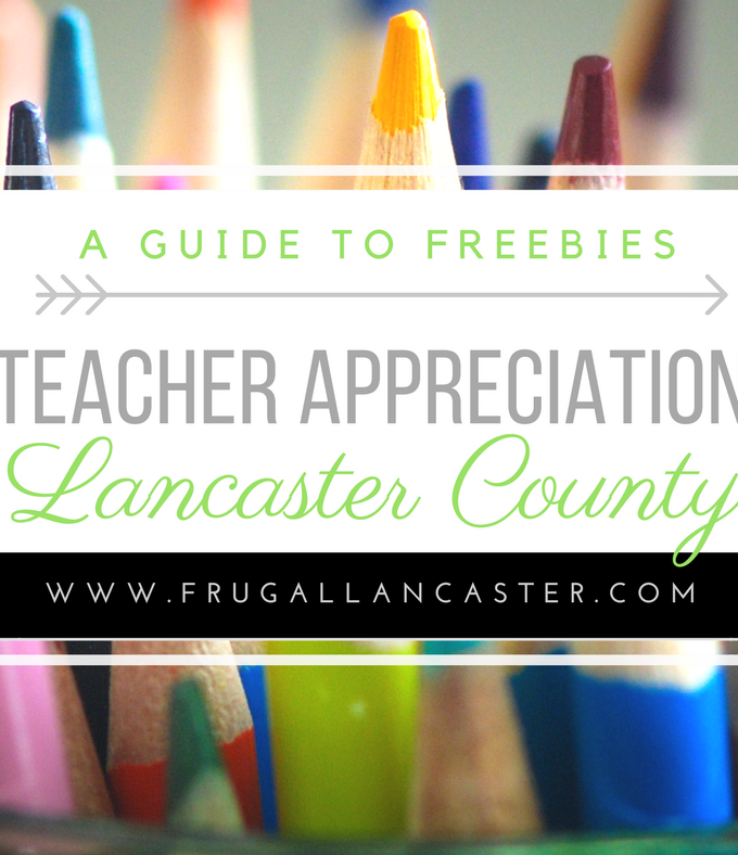 Teacher Appreciation Week Deals and Freebies in Lancaster County