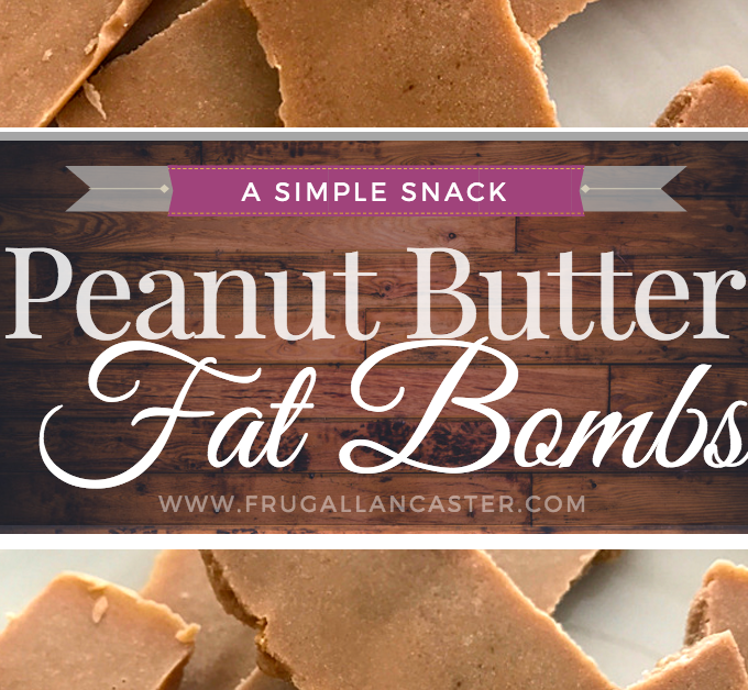 Sensational Peanut Butter Fat Bombs {Improvised!}