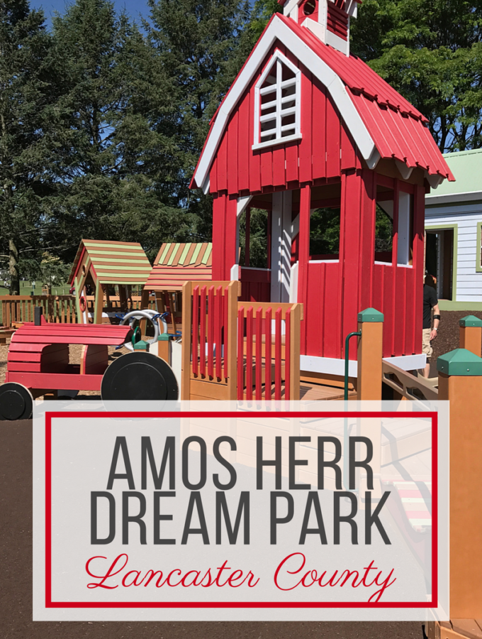 Amos Herr Dream Park Playground in Landisville, PA