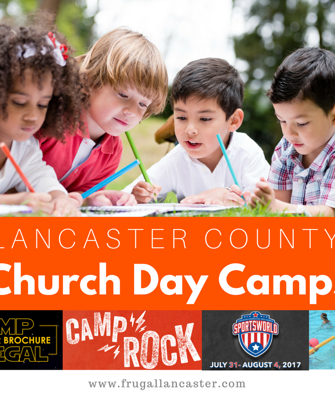 Church Day Camps in Lancaster County