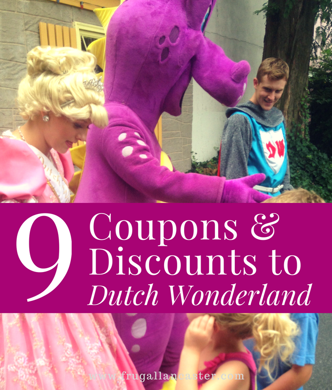 9 Ways to Save on Dutch Wonderland Tickets