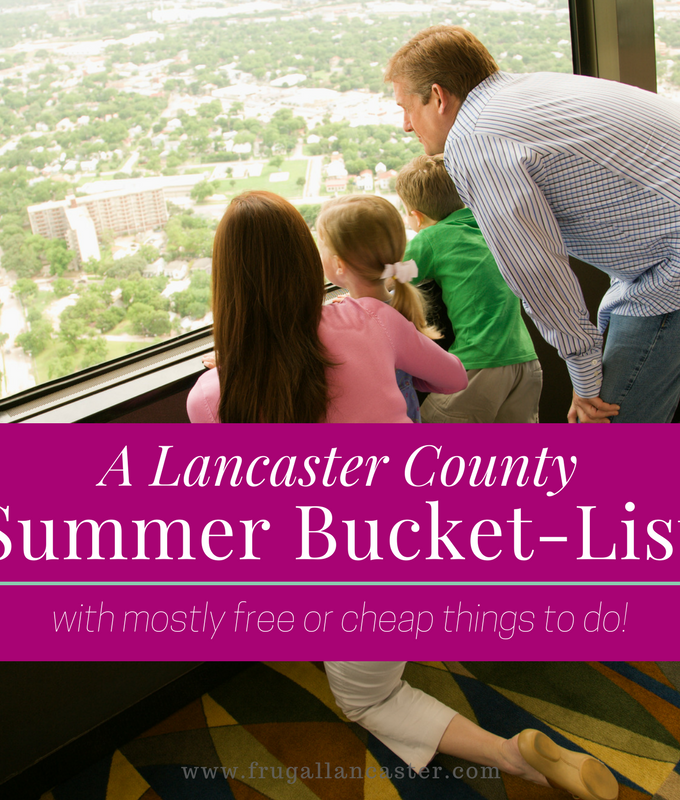 Mostly-Free Summer Bucket List Ideas for Your Family Staycation {with Lancaster County links}