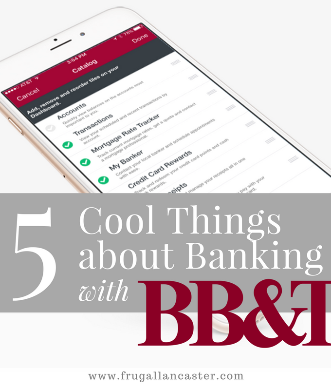 5 Cool Things about Banking with BB&T {FREE $50 Reward for New Checking Account}