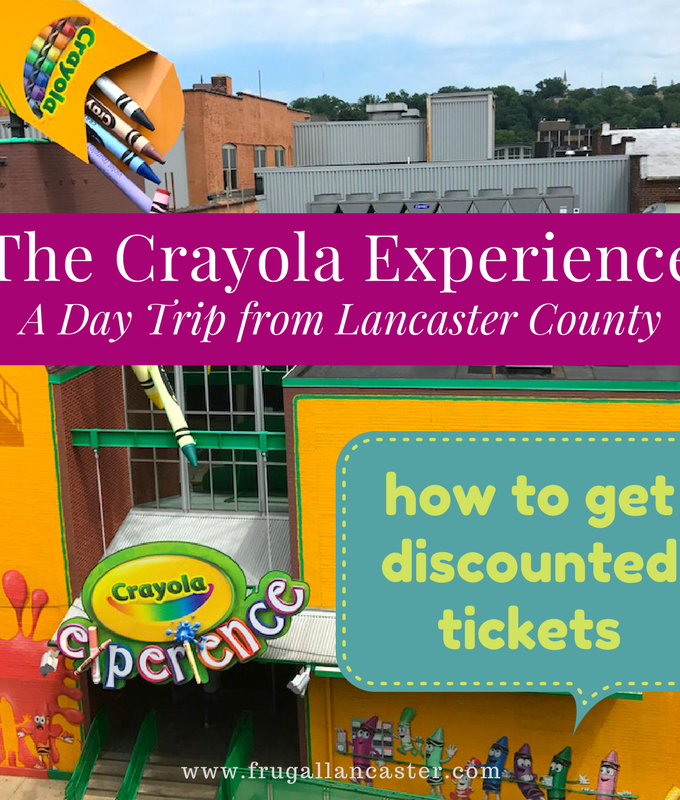 The Crayola Experience in Easton, PA {A Family Fun Day Trip Idea from Lancaster County}