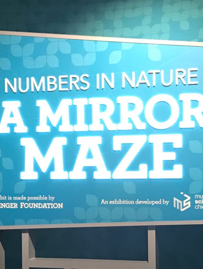 A Mirror Maze: Numbers in Nature at the Franklin Institiute