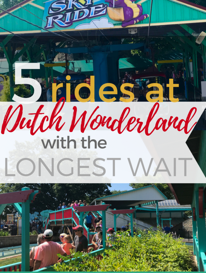 5 Dutch Wonderland Rides with the Longest Wait