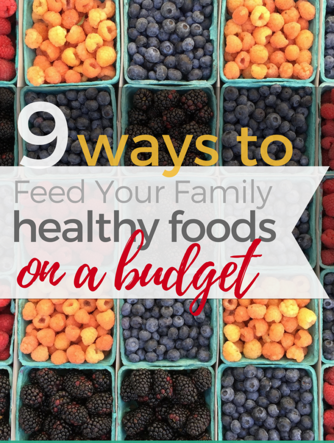 Feed Your Family Healthy Foods on a Budget