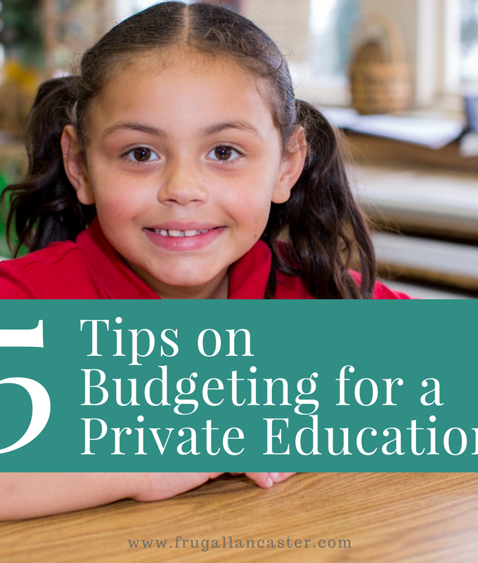 Tips on Budgeting for a Private School Education