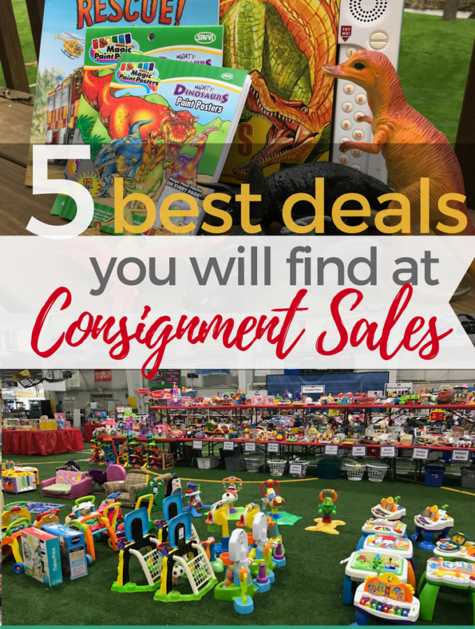 5 Best Deals You'll Find at Kids Consignment Sales