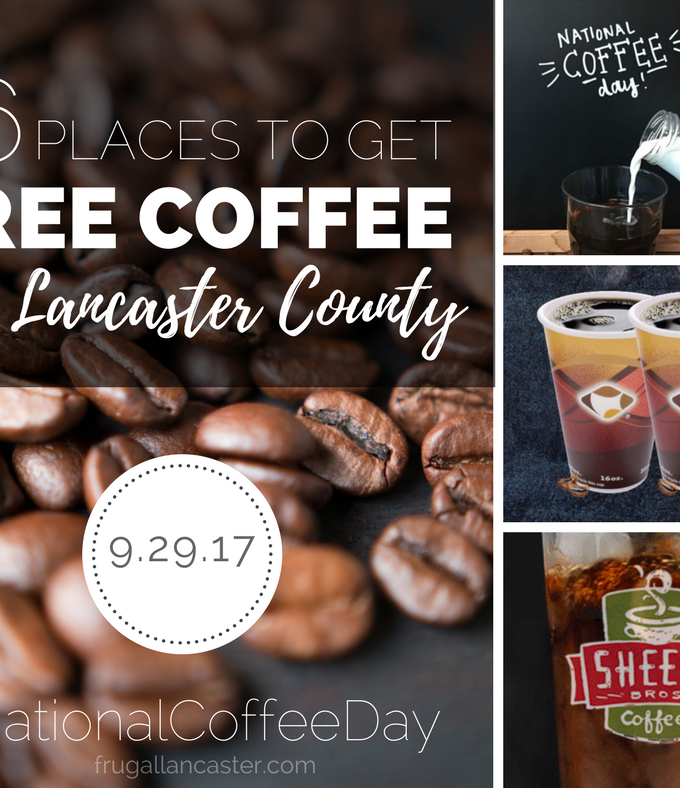6 Places To Get FREE Coffee on National Coffee Day in Lancaster County