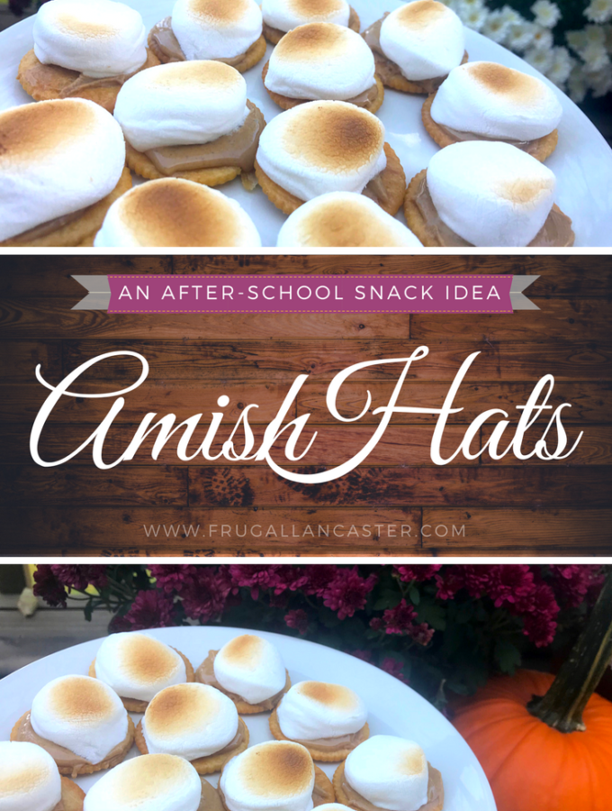 Amish Hats {A Simple After-School Snack Idea}