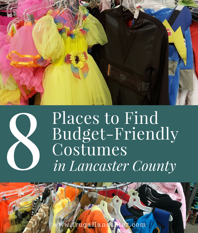 Places to Buy Budget-Friendly Costumes in Lancaster County