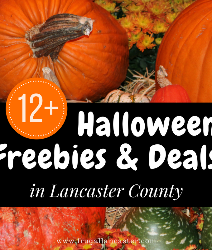 Lancaster County Halloween Freebies and Deals