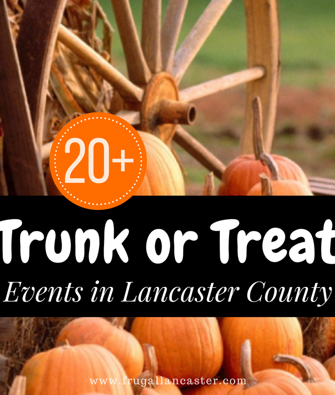 20 Trunk or Treat Events in Lancaster County