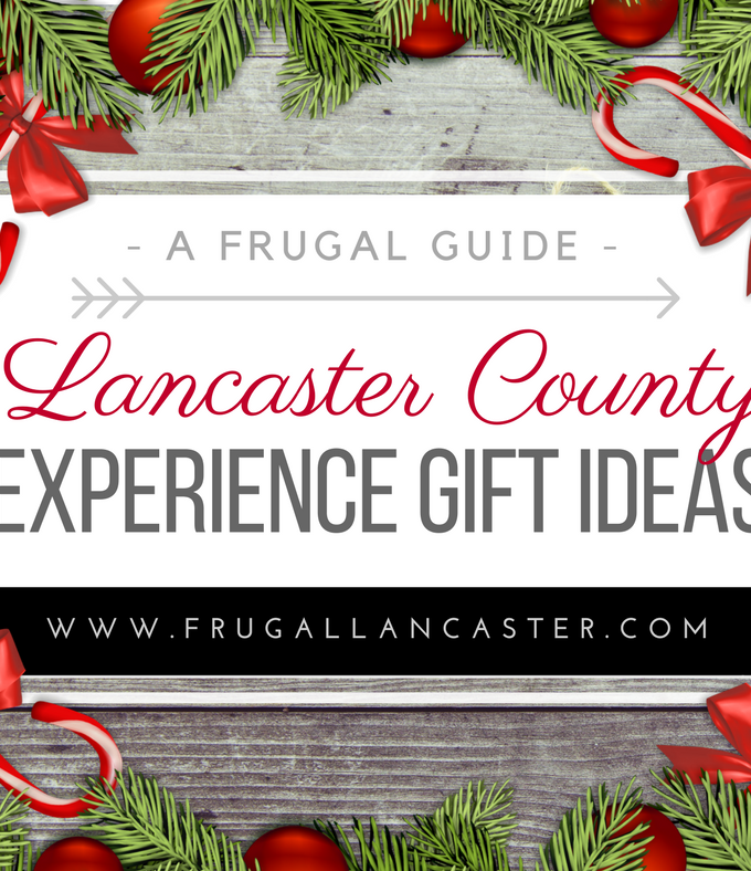 Experience Gift Ideas for Lancaster County
