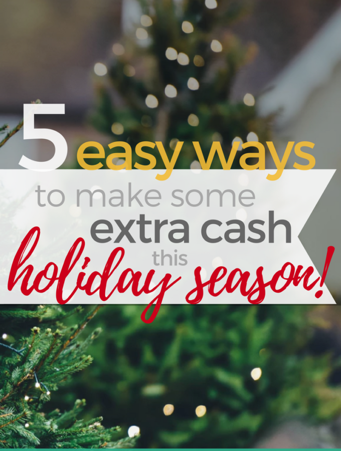 5 Easy Ways to Make Extra Cash this Holiday Season