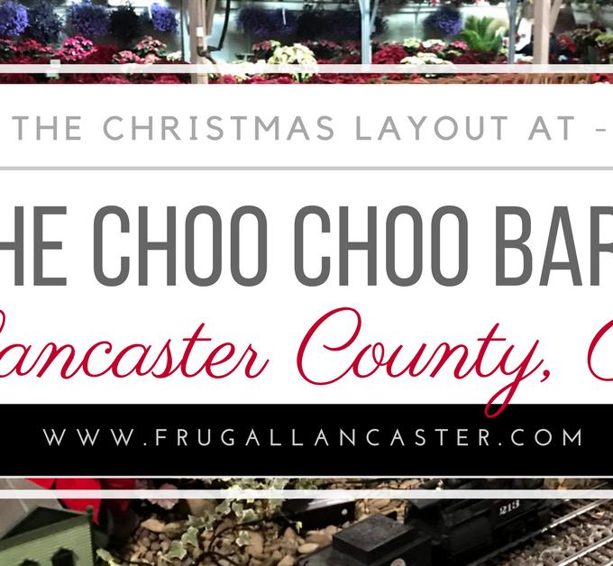 Choo Choo Barn Christmas Layout