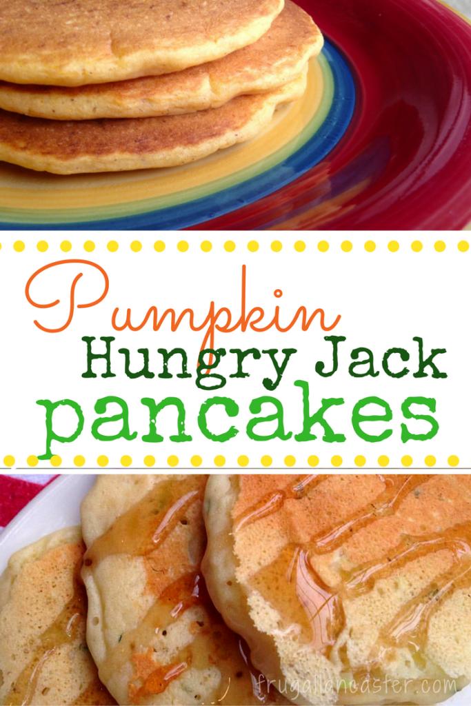 Pumpkin Hungry Jack Pancakes Frugal Lancaster