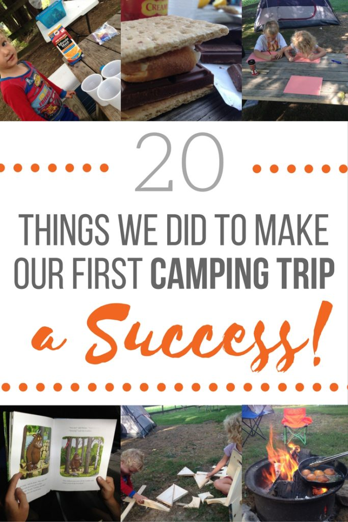 20 Things We Did To Make Our First Camping Trip With Kids ...