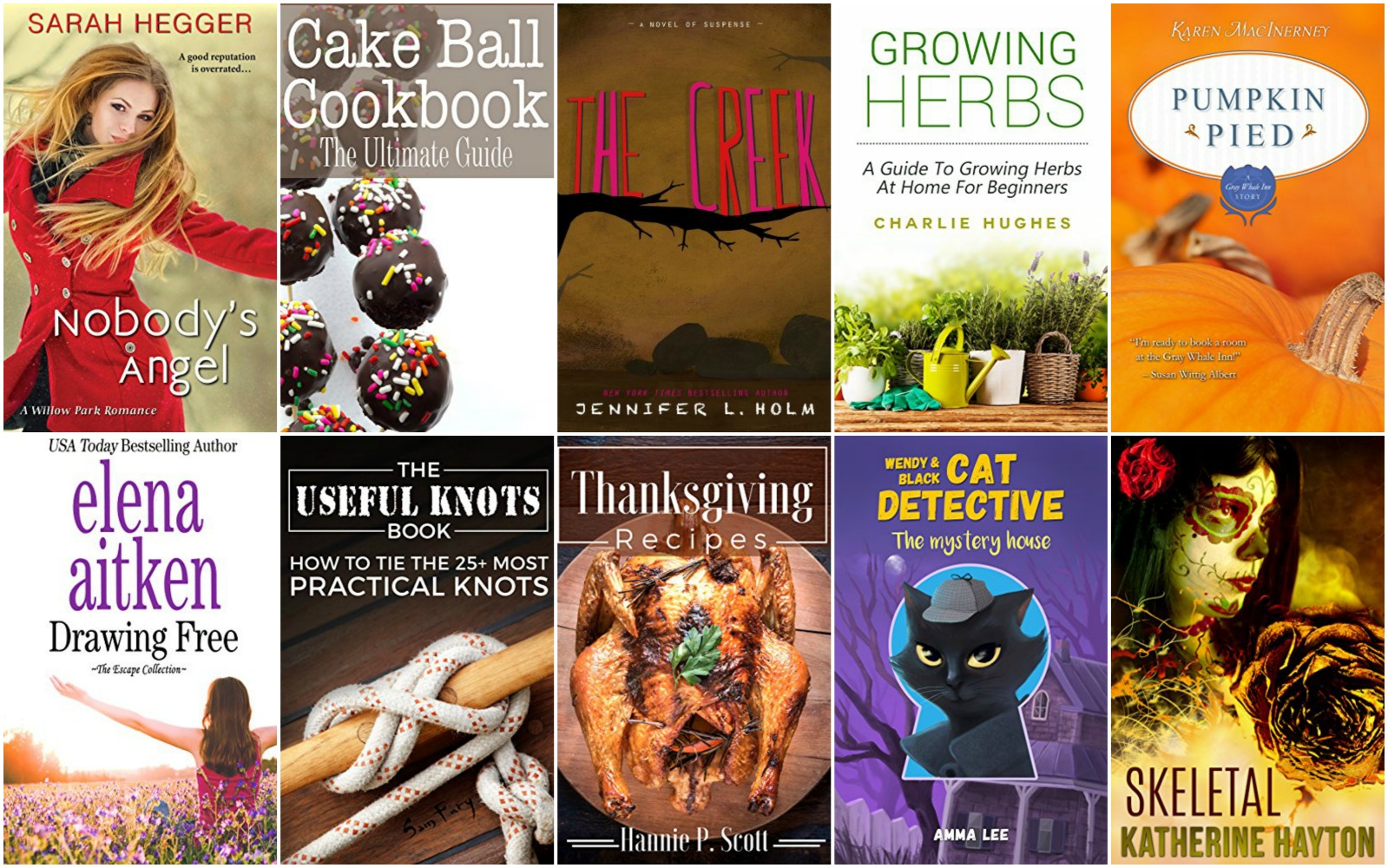 Free Thanksgiving Recipes Ebook
