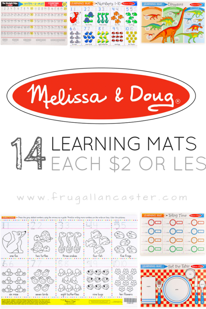 Where To Buy Melissa Amp Doug Learning Mats For 2 Or Less