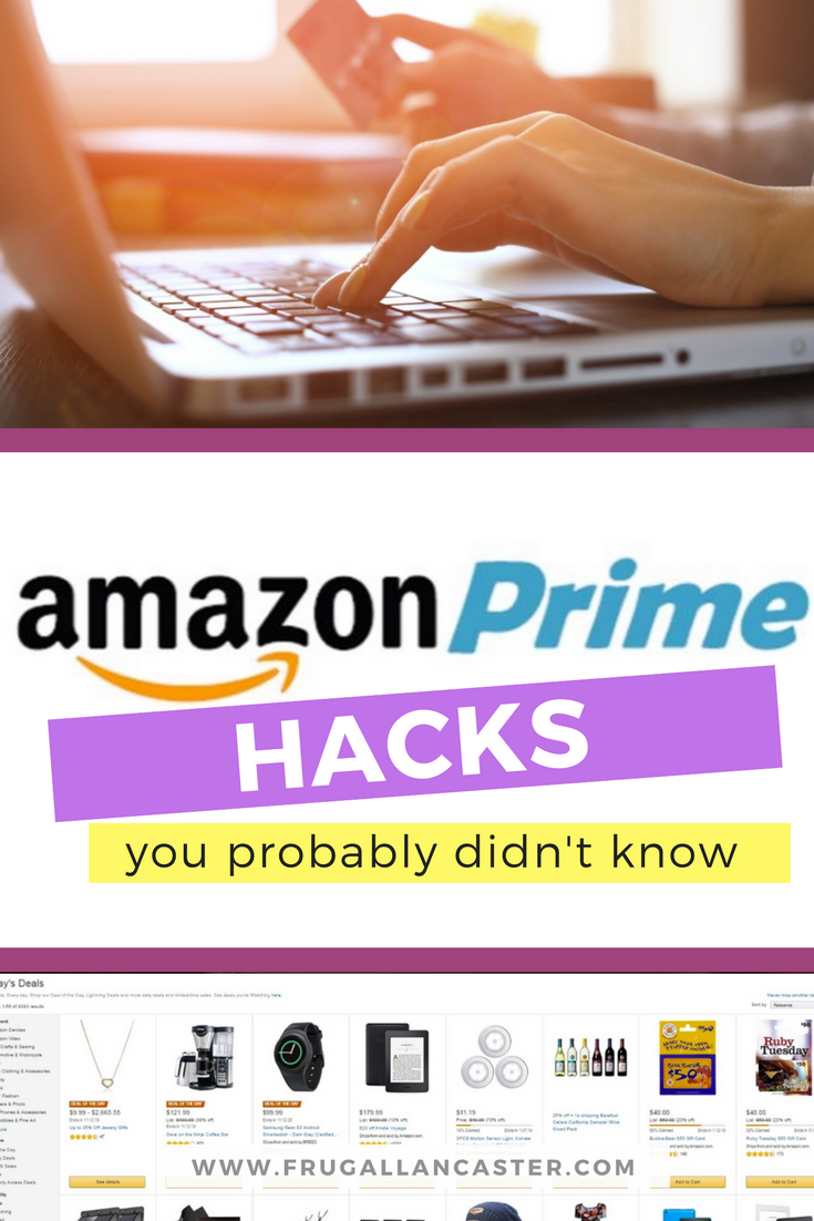Amazon Prime Hacks You Probably Didn T Know Frugal Lancaster