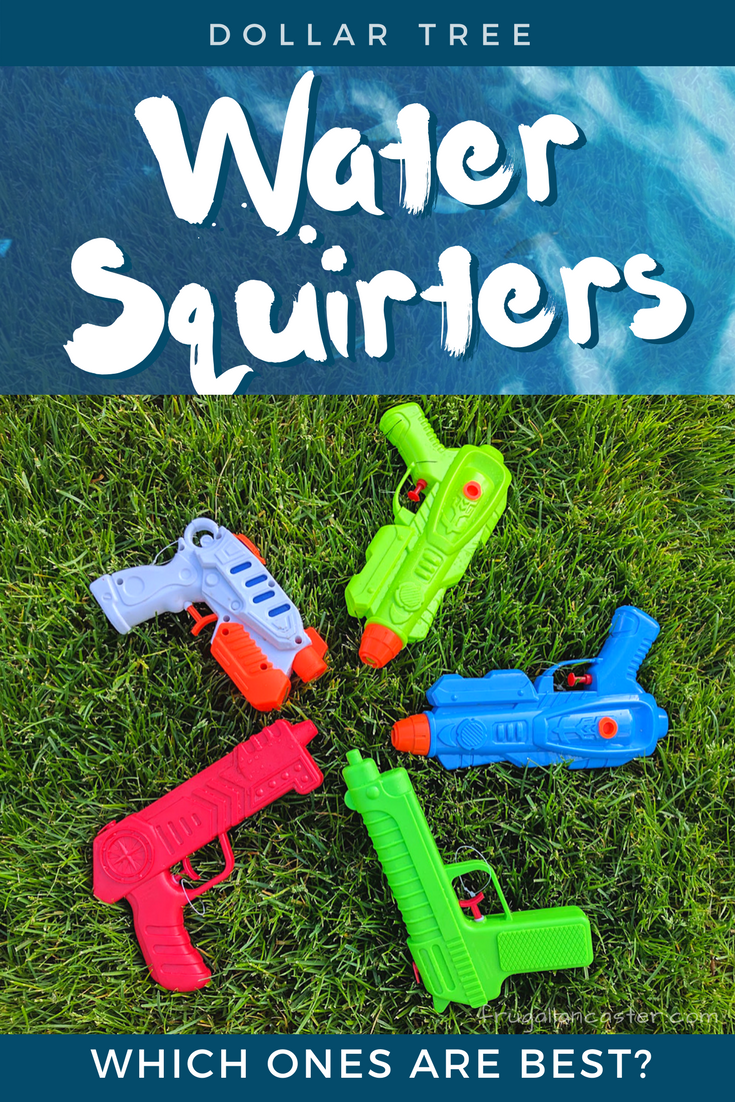 Dollar Tree Water Squirter Comparison Which Ones Are Best