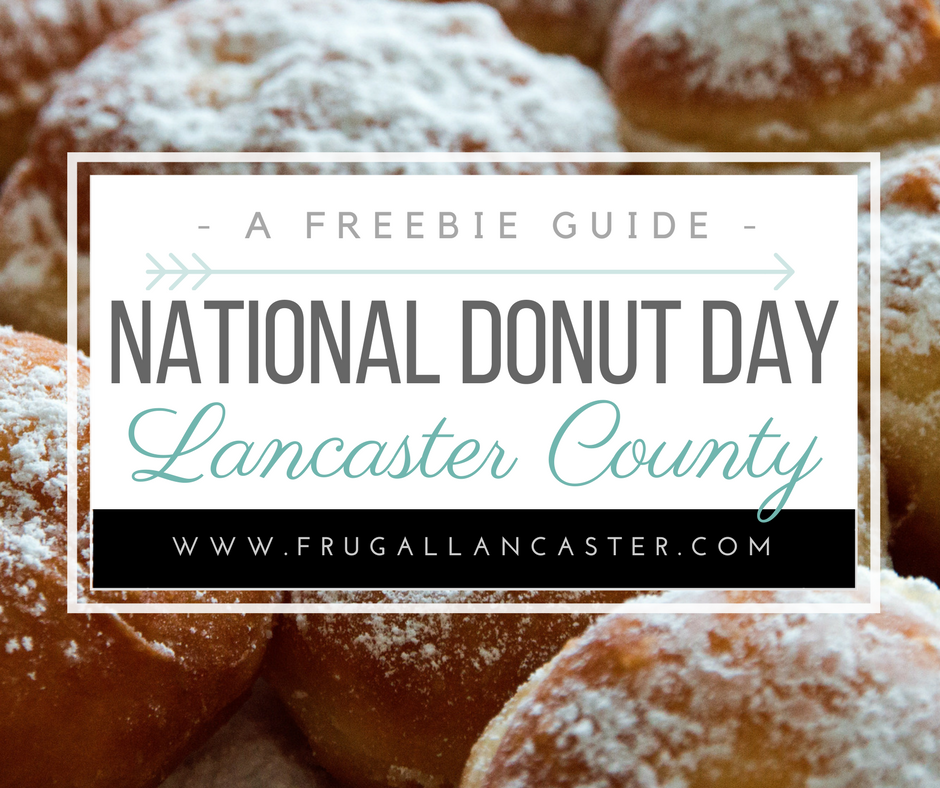 National Donut Day In Lancaster County Friday June 7