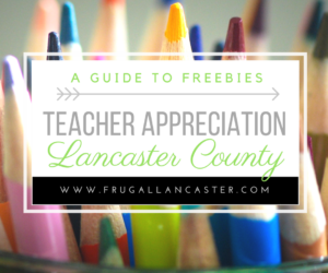 Teacher Appreciation Week 2017 Pa: Frugal Lancaster   Helping You Live a Frugal Life in Lancaster    ,