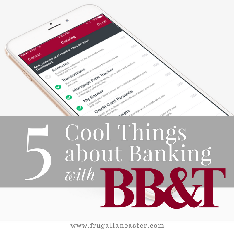 5 Cool Things about Banking with BB&T {FREE $50 Reward for New ...