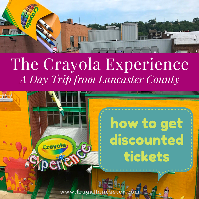 crayola experience coupons and savings