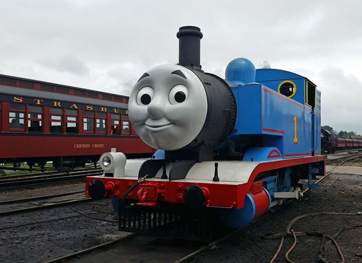 Thomas the train naked