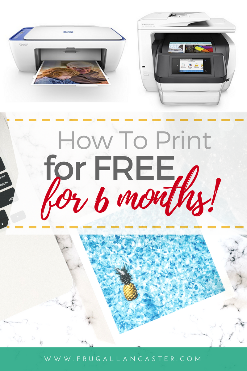 How To Print FREE For 6 Months with HP\'s Instant Ink Program ...